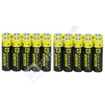 eSpares Ultra Alkaline AA Batteries - Pack of 20