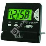 Mini LCD Flip Alarm Clock