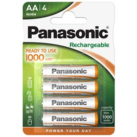 AA Rechargeable Batteries (Pack of 4) - ES1637373