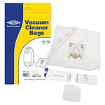 Electruepart BAG248 High Quality Miele GN Type Filter-Flo Synthetic Dust Bags and Filter Kit - Pack of 5 Bags