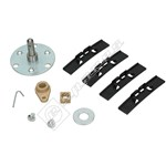 Compatible Tumble Dryer Drum Shaft Kit  - Self Tapped