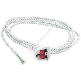 Universal Iron Mains Cable 2.5m - UK Plug - ES1673489